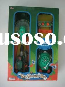 Plastic Tool set toy / lawn trimmer garden set