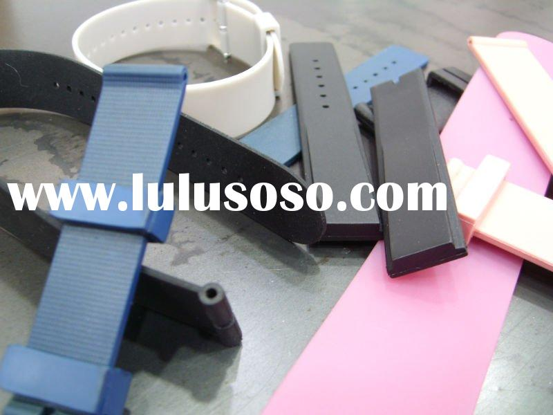 Silicone rubber watch strap/Band