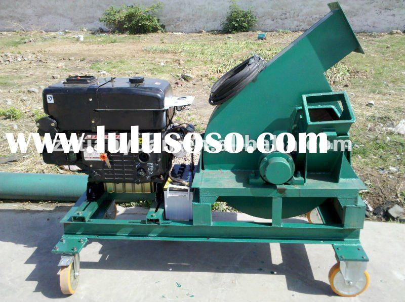 Top quality portable wood chipper