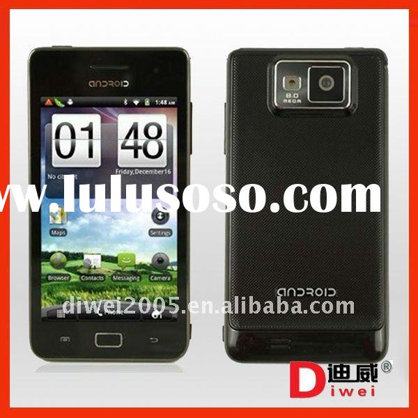 WCDMA 3G 4.1 inch Capacitive Screen Android 2.3.4 OS WIFI GPS mobile phone I9100