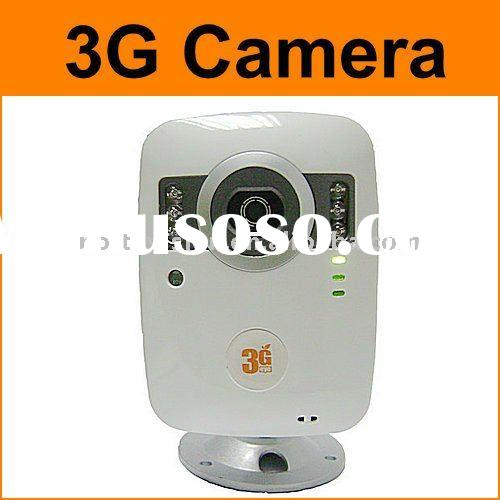 WCDMA 3G camera with 2 way video call and alarm system