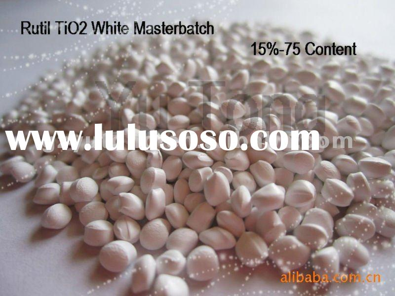 White Masterbatch for Plastics/Rutile Concentrate/Dupont Plastic Resin