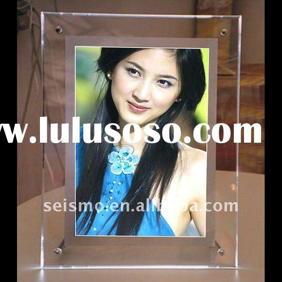 advertising crystal super slim LED light box