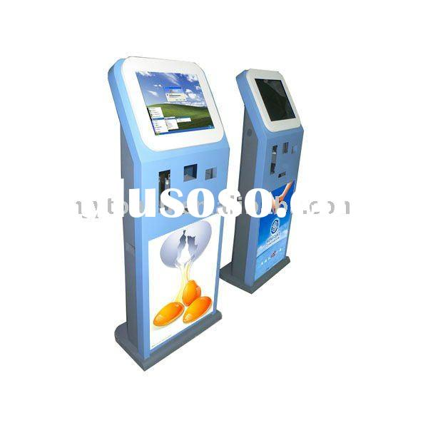 coin payment kiosk for parking lot