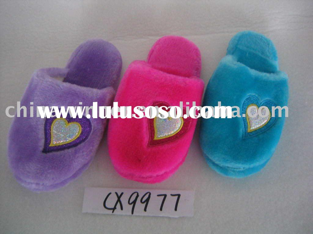cute soft indoor slippers