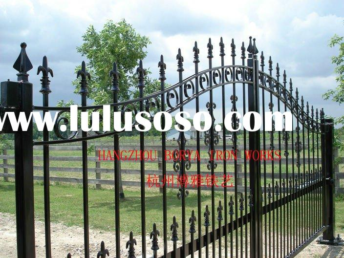 hand forged wrought iron gate