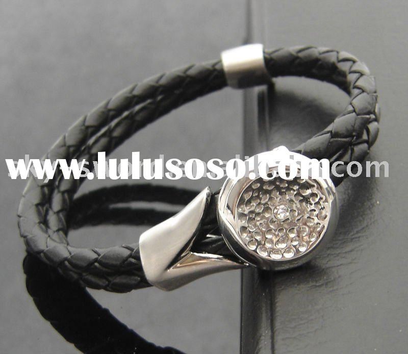 high-quality fashion leather bracelet