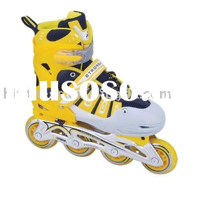 inline skate shoes(with PU flashing wheels)
