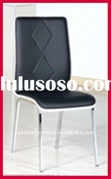 modern cheap dining chair with PU cover