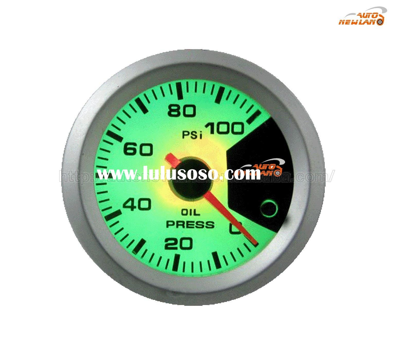 new design 2'' car / auto oil pressure gauge