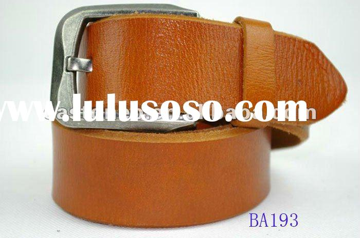 new fashion genuine leather men belts