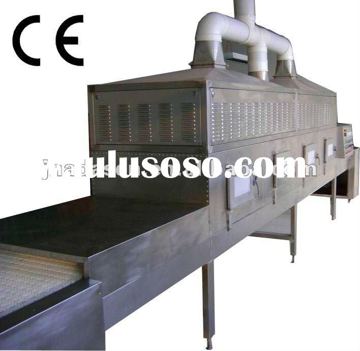 onion leaves microwave continuous dryer/sterilizer machinery--industrial microwave equipment