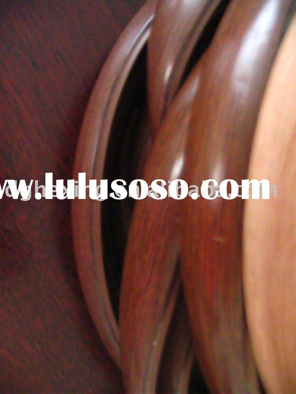 plastic PVC/ABS wood grain edge banding strips for kitchenware and furniture