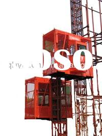 rack and pinion construction building hoists