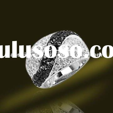 2012 New Hot Selling 925 Sterling Silver Micro Setting Rings