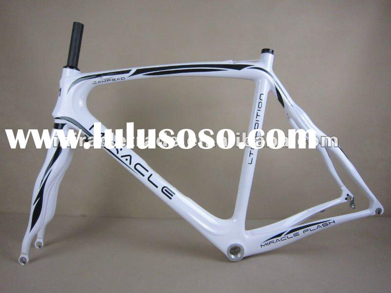 2012 hot sell Full Carbon 700C Monocoque Road Frame , pinarello dogma brand full carbon frame and fo