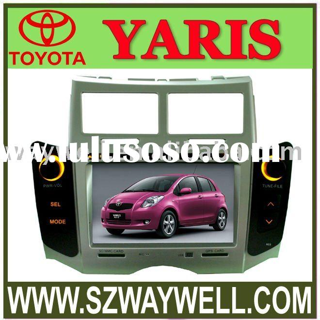 2 DIN 7 inch car DVD Player special for TOYOTA yaris 2008, Belta