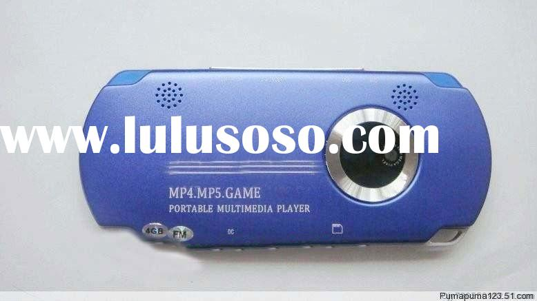 4.3inch digital MP5 game player with camera