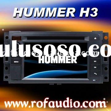 "7""touch screen auto car radio for Hummer H3 built in rds ipod canbus tv bt gps"