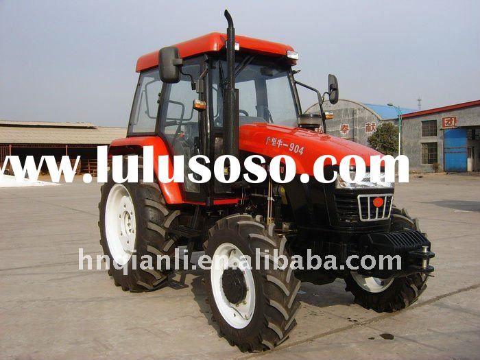 Large 4 Wheel Drive Tractors : Forward reverse gearbox high speed tractor for