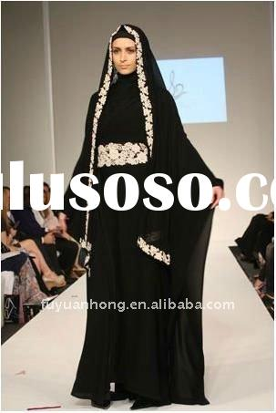 Model  Black Abaya Islamic Clothing For Muslim Turkish Women Abayas Dress