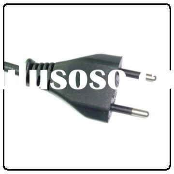 Brazil Standard INMETRO Approval power supply cord/cable 2-PIN PLUG