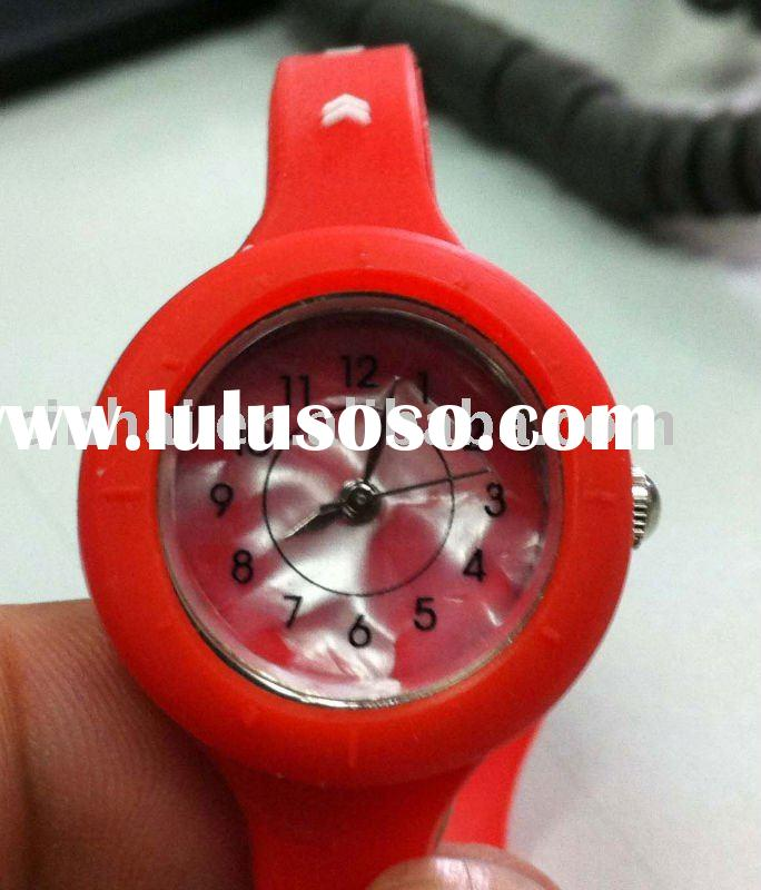 Cheap Power Silicone Watch Band with customized logo and hologram