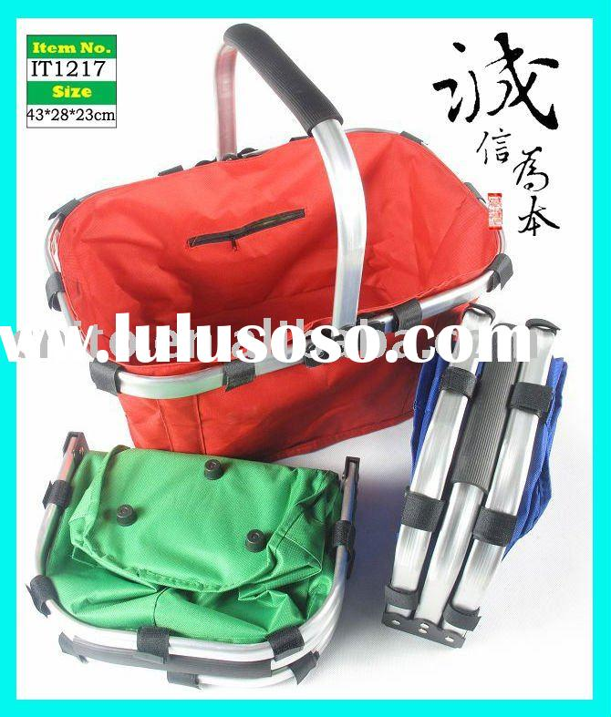 Aluminum Frame Collapsible Picnic Basket For Sale Price