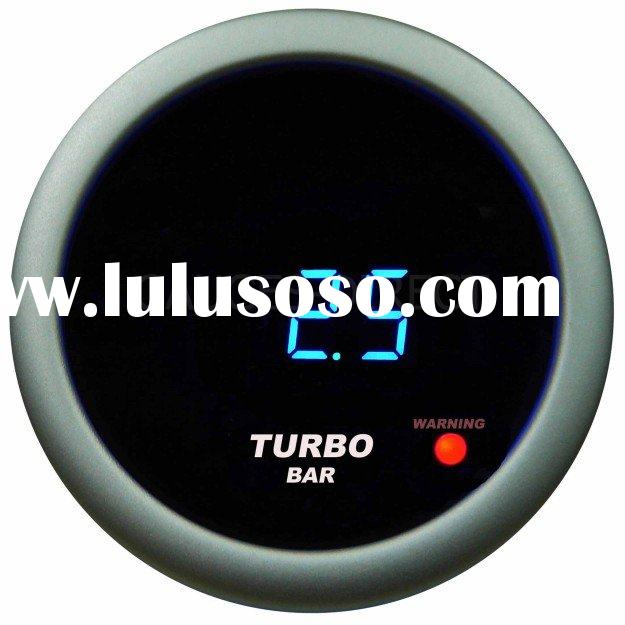 Digital Turbo/Boost Gauge (auto meter, auto part)
