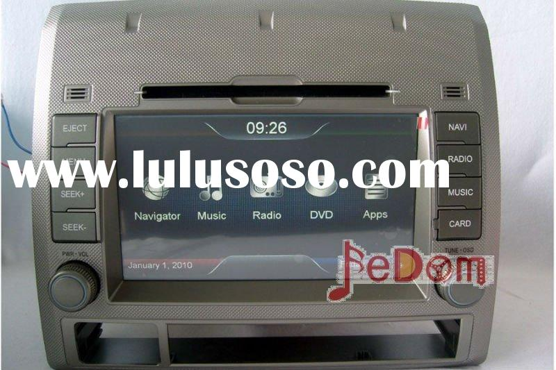 Double Din 2 In-dash DVD GPS for Toyota Tacoma with 7' HD digital TFT touch screen+Map+iPod+