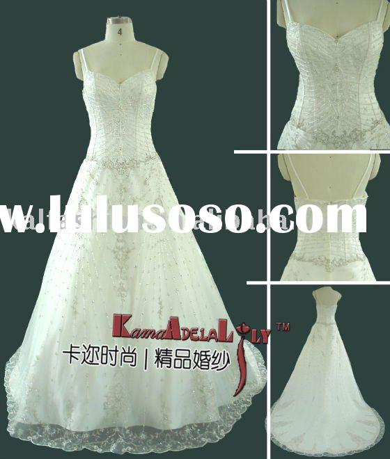 EB708 Pretty Customed Girl's Prom Dress wedding dress authentic wedding gown bridal gown