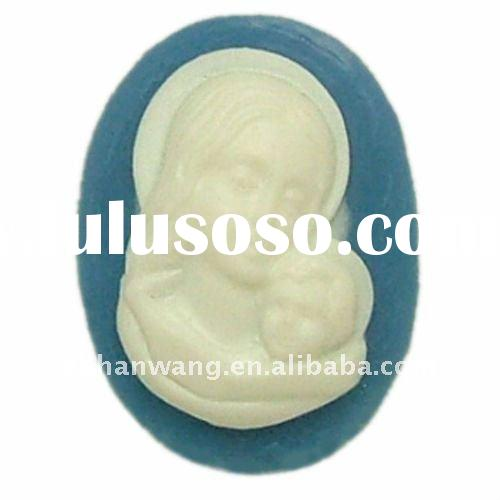 F0013 silicone clay molds concrete molds resin craft mold
