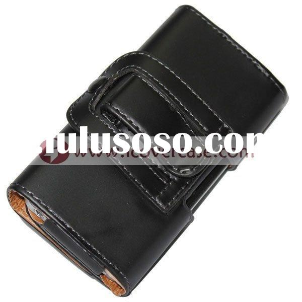 For iPhone 4s Leather Case, Belt Clip Leather Case for iPhone 4
