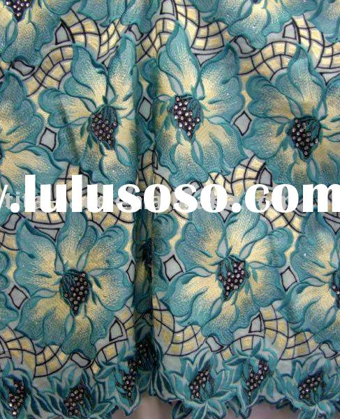 High Quality Swiss Voile Lace, African Handcut Voile Lace