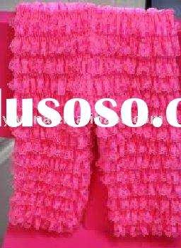Hot Pink Baby Ruffle Lace Petti Pants