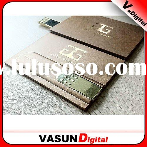Hot sale ! factory price credit card USB Flash Drive