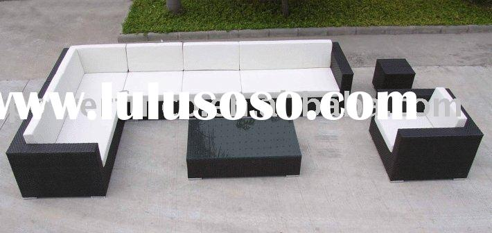 Hotel/Wicker/Rattan/Synthetic/PE/Aluminum/Leisure/Patio/Oudoor/Garden Furniture/sofa/table/chair/set