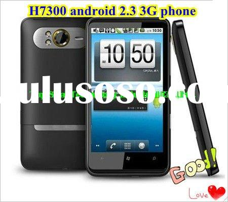Latest MTK 6573 Android 2.3.4 Phone 3G Phone H7300 Mobile phone with GPS WIFI 8.0 M Camera
