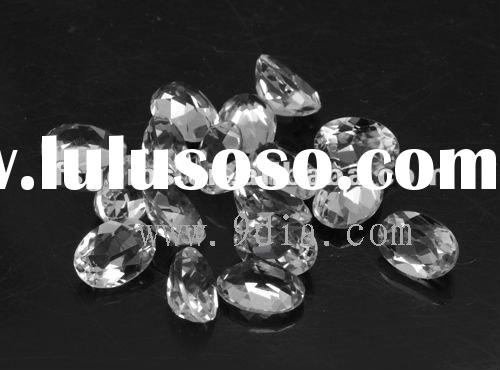 Low Price Small size white topaz at large stock