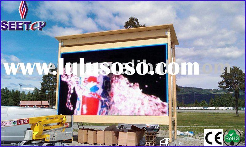 Outdoor Full Color LED Screen with 9,000 Nits High Brightness