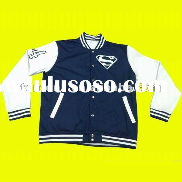 Professional custom design american baseball jacket