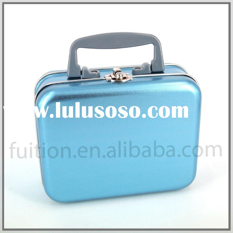 Small Suitcase Lunch Box Tin Container