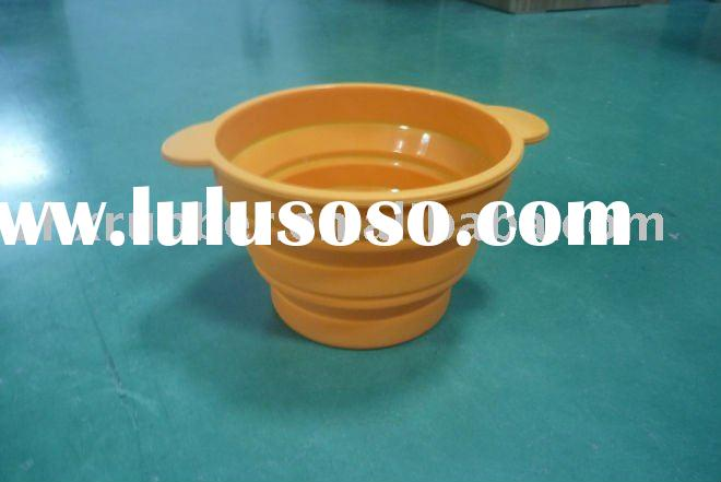 collapsible silicone bowl for pets
