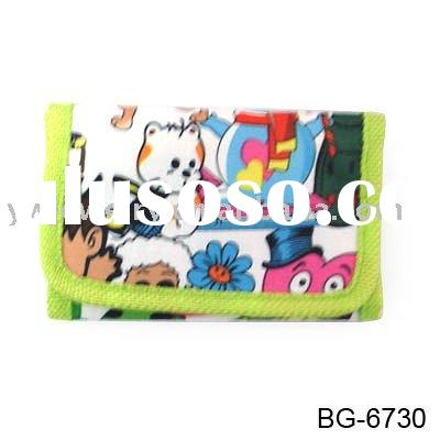 kids wallet,canvas wallet,money purse