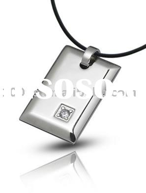 stainless steel pendant, stainless dog tag