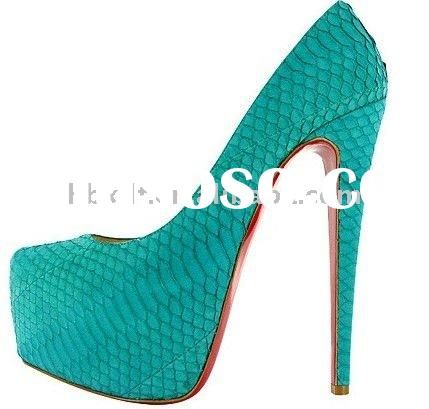 stylish ladies high heel shoes various color for ur choice