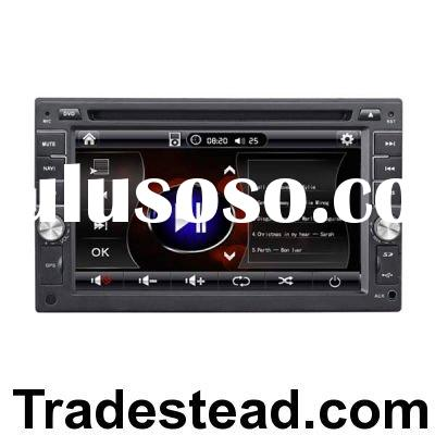 6.2-inch 2 Din Touch Screen GPS Car Stereo MP3 DVD Player with 2GB SD Card
