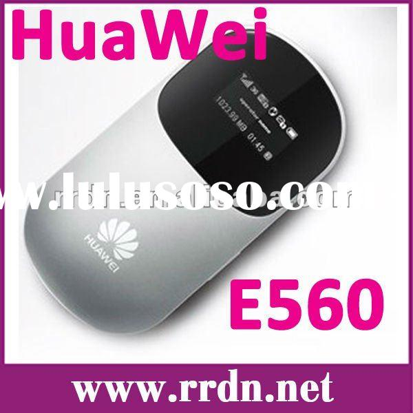 7.2 Mbps Original Huawei E560 HSUPA Wireless 3G wifi router Support 5 Wi-Fi devices