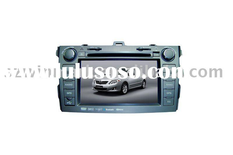 7 inch in dash HD 2 DIN Car DVD system with GPS for Toyota-Corolla/'Car video