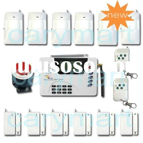 Autodial PSTN / GSM Tri Band / Quad Band GSM SMS LCD Security Alarm System 20E